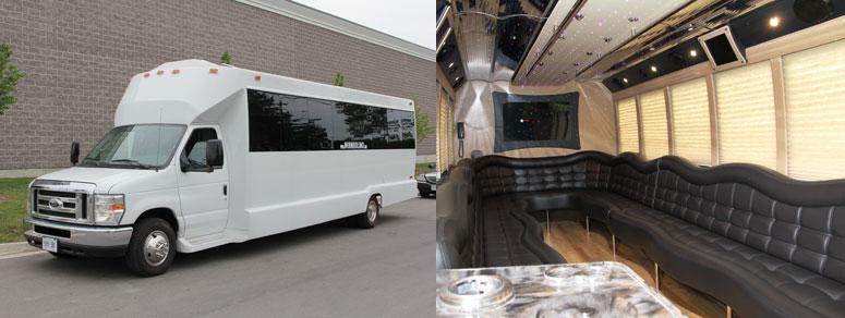 party bus rental in toronto